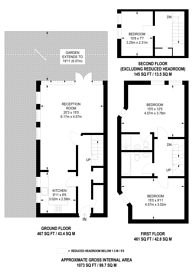 Large floorplan for Rush Common Mews, Brixton Hill, SW2