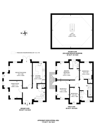 Large floorplan for Mount Park Road, Harrow on the Hill, HA1
