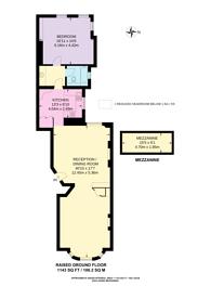Large floorplan for Lennox Gardens, SW1X, Knightsbridge, SW1X