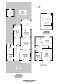 Large floorplan for Tolworth Rise South, Tolworth, KT5