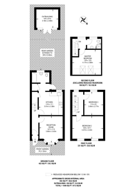 Large floorplan for Glen Road, Walthamstow, E17