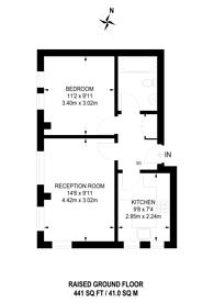 Large floorplan for Waldegrave Road, Crystal Palace, SE19