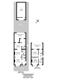 Large floorplan for Wellington Avenue, Worcester Park, KT4