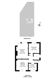 Large floorplan for Windsor Avenue, Merton, SW19