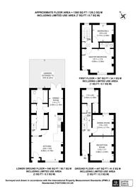Large floorplan for Methley Street, Kennington, SE11