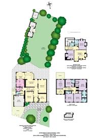Large floorplan for Hampstead Lane, Hampstead, N6