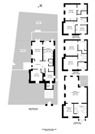 Large floorplan for Acacia Road, St John's Wood, NW8