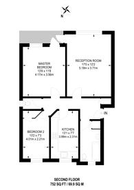 Large floorplan for Somerset Road, New Barnet, EN5