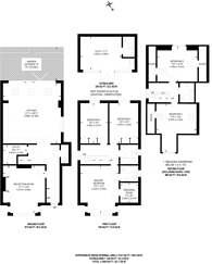 Large floorplan for Woodcroft Avenue, Mill Hill, NW7