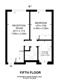 Large floorplan for Cumberland Place, Marylebone, W1H