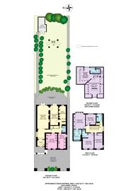 Large floorplan for Aylmer Road, East Finchley, N2