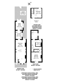 Large floorplan for Lower Coombe Street, Croydon, South Croydon, CR0