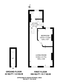 Large floorplan for Portnall Road, Maida Hill, W9