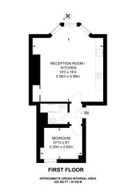 Large floorplan for Walterton Road, Maida Hill, W9