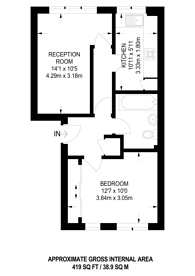 Large floorplan for Telegraph Place, Canary Wharf, E14
