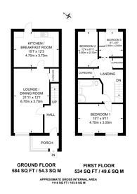 Large floorplan for Beaconsfield Road, Walthamstow, E17