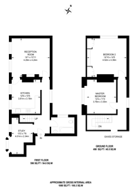 Large floorplan for Madeley Road, Ealing, W5