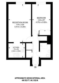 Large floorplan for Kingsway, N12, North Finchley, N12