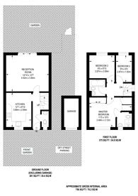 Large floorplan for Weaver Close, Beckton, E6