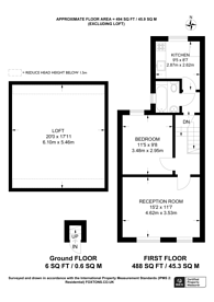 Large floorplan for Canterbury Road, Croydon, CR0
