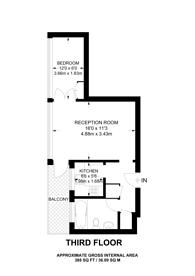 Large floorplan for Kensington Church Street, Notting Hill, W8