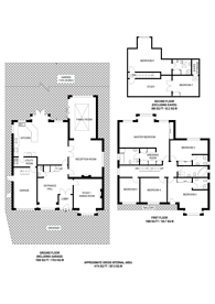 Large floorplan for Elwill Way, Park Langley, BR3