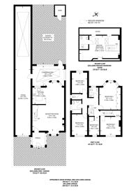 Large floorplan for St Michaels Avenue, Wembley Park, HA9