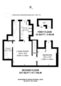 Large floorplan for Lechmere Road, Willesden Green, NW2