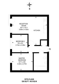 Large floorplan for Waterworks Yard, Central Croydon, CR0