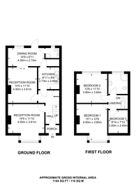 Large floorplan for Lichfield Road, East Ham, E6