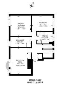 Large floorplan for Lennox Rd, Stroud Green, N4
