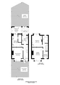Large floorplan for Caledonian Road, Islington, N7