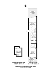 Large floorplan for Barmouth Road, Wandsworth, SW18