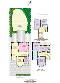 Large floorplan for Milverton Road, Brondesbury, NW6