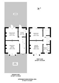 Large floorplan for Springwell Road, Heston, TW5
