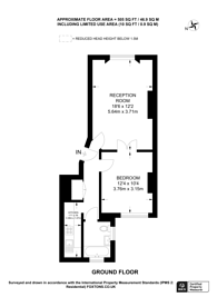 Large floorplan for Inverness Terrace, Queensway, W2