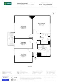 Large floorplan for Wootten Street, Waterloo, SE1