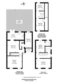 Large floorplan for Greenwich Crescent, Beckton, E6
