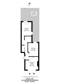 Large floorplan for Lowman Road, Holloway, N7