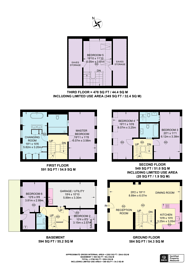 Large floorplan for Little Chester Street, Belgravia, SW1X