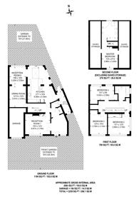 Large floorplan for Valleyfield Road, Streatham, SW16