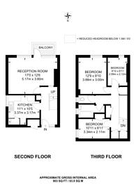 Large floorplan for Smithy Street, Whitechapel, E1