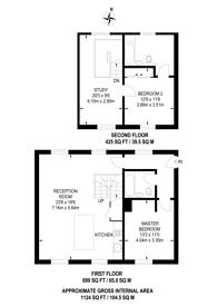 Large floorplan for Chart Street, Hoxton, N1