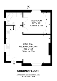 Large floorplan for Camden Road, Camden, NW1