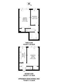 Large floorplan for Carnarvon Road, Stratford, E15