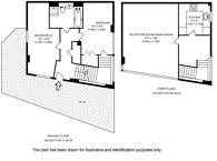 Large floorplan for Hansel Road, Maida Vale, NW6