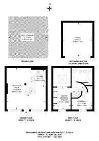 Large floorplan for Wavel Mews, West Hampstead, NW6