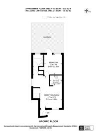 Large floorplan for Little Street, Guildford, GU2