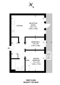Large floorplan for Woodmill Road, Clapton, E5