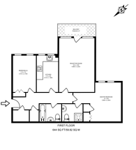 Large floorplan for Ribblesdale Avenue, Friern Barnet, N11